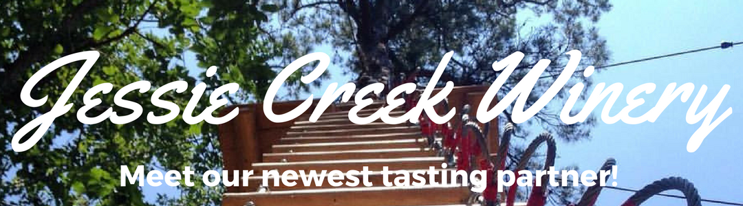 Jessie Creek Winery – Our newest Zip & Sip Partner!