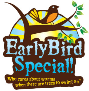 Early Bird Special at T2T CM - Aerial Obstacle Adventure Course
